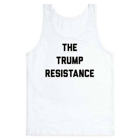 The Trump Resistance Tank Top