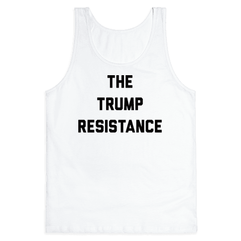 The Trump Resistance Tank Top