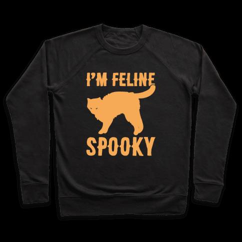 I'm Feline Spooky White Print