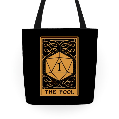 The Fool Nat1 Tarot Card Tote