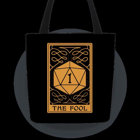 The Fool Nat1 Tarot Card Tote