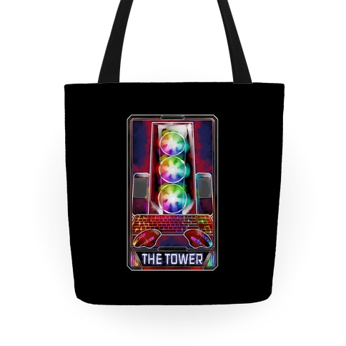 The Gaming Tower Tarot Card Tote