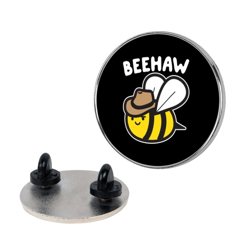 Beehaw Cowboy Bee pin