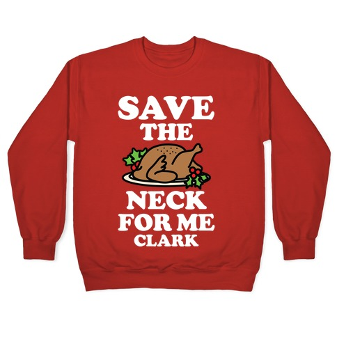 Save the Neck For Me Clark Pullover