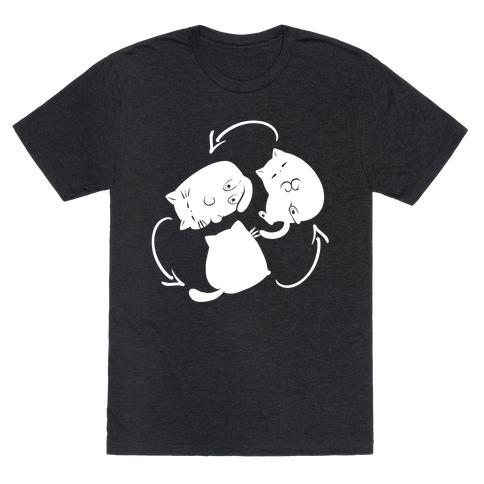 Kitty Pose Cycle  T-Shirt