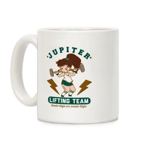 Jupiter Lifting Team Workout Parody Coffee Mug