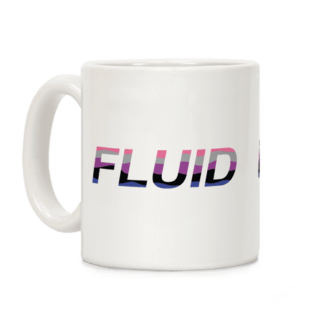 Fluid Waves Coffee Mug