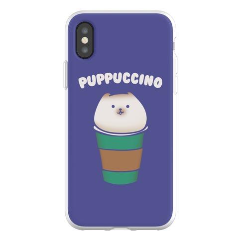 Puppuccino Parody Phone Flexi-Case