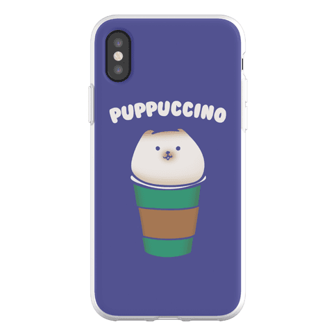 Puppuccino Parody Phone Flexi-Case