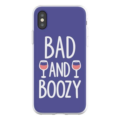 Bad And Boozy Phone Flexi-Case
