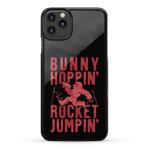Bunny Hoppin' & Rocket Jumpin' Phone Case