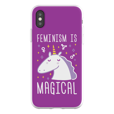 Feminism Is Magical Phone Flexi-Case