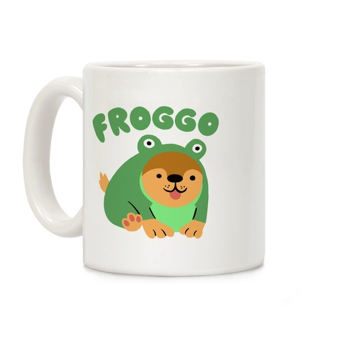 Froggo Doggo Frog Coffee Mug