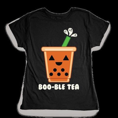 Boo-ble Tea Womens T-Shirt