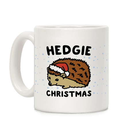 Hedgie Christmas  Coffee Mug