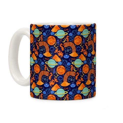 Dune Planetary Pattern Coffee Mug