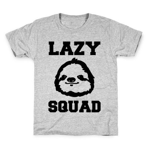Lazy Squad Kids T-Shirt