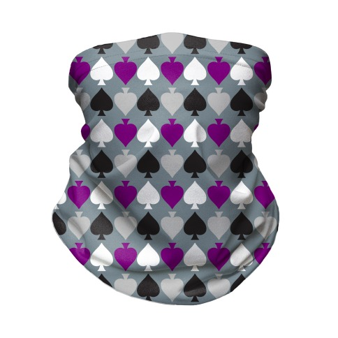 Ace Pride Pattern Neck Gaiter