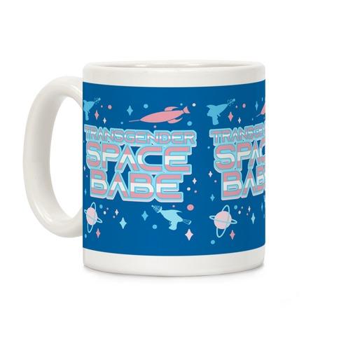 Transgender Space Babe Coffee Mug
