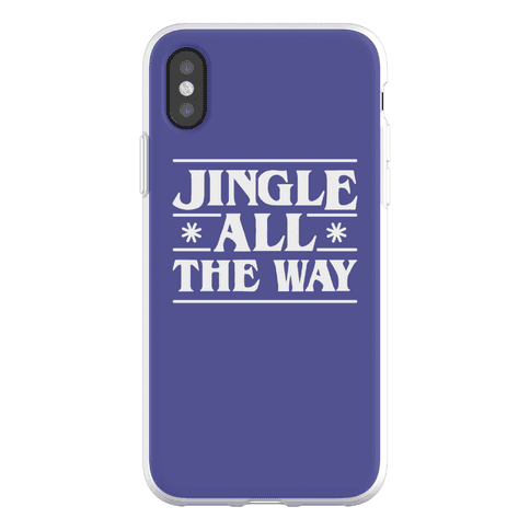 Jingle All The Way Things Parody Phone Flexi-Case