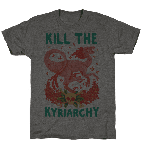 Kill the Kyriarchy Mens T-Shirt