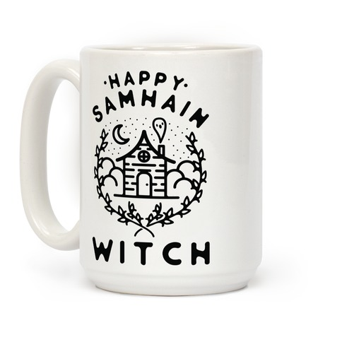 Happy Samhain Witch Coffee Mug