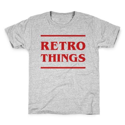 Retro Things Kids T-Shirt