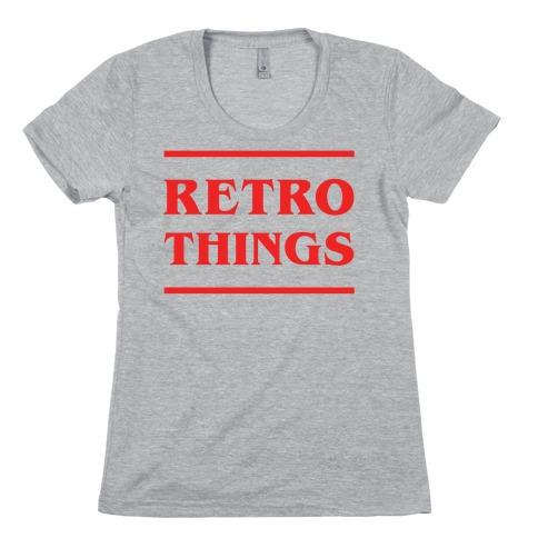 Retro Things Womens T-Shirt