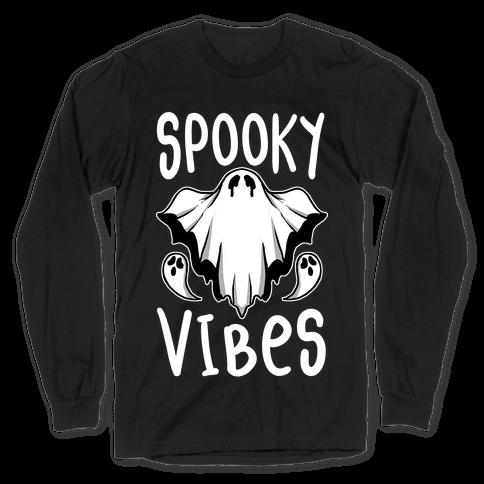 Spooky Vibes Long Sleeve T-Shirt