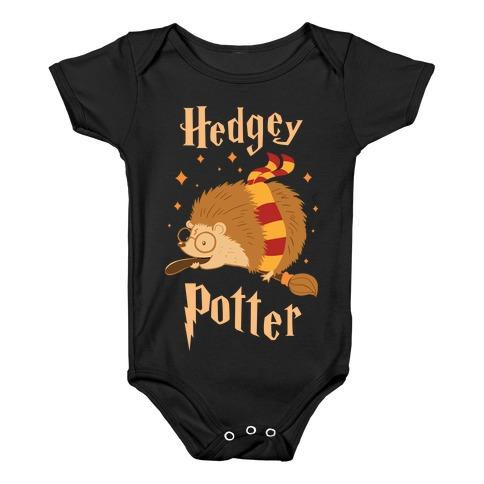 Hedgey Potter Baby Onesy