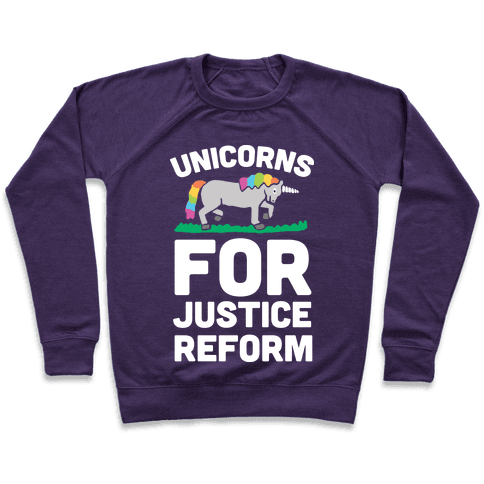 Unicorns For Justice Reform Pullover