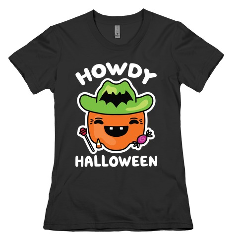 Howdy Halloween Womens T-Shirt