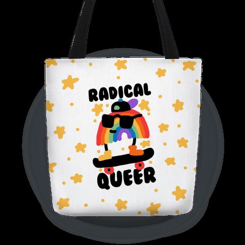 Radical Queer Rainbow Tote