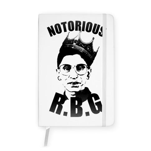 Notorious RBG (Ruth Bader Ginsburg) Notebook
