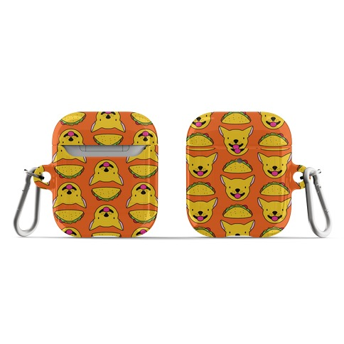 Taco Puppy Pattern AirPod Case