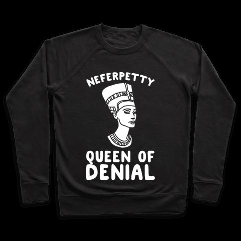 Queen Neferpetty White Print Pullover