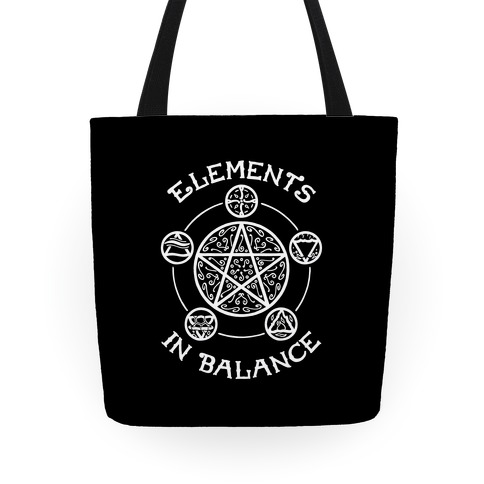 Witch's Elements In Balance Tote