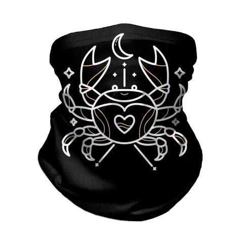 Astrology Cancer Crab Neck Gaiter
