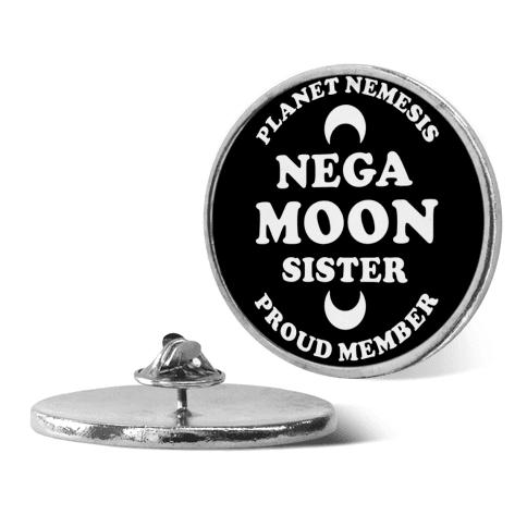 Planet Nemesis Negamoon Sister pin