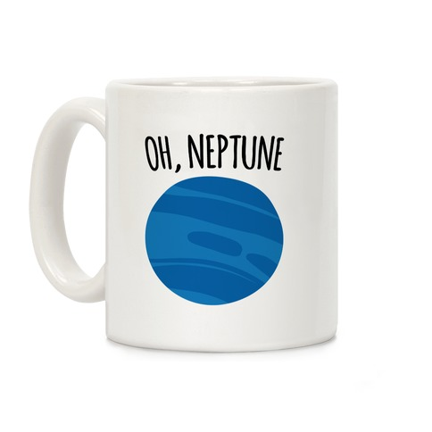 Oh Neptune Coffee Mug