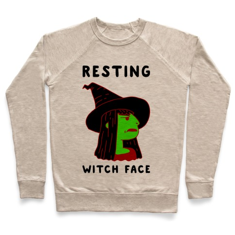 Resting Witch Face Pullover