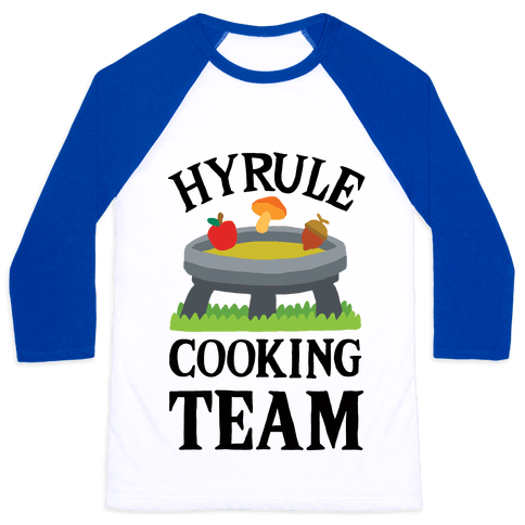 Hyrule Cooking Team Baseball Tee