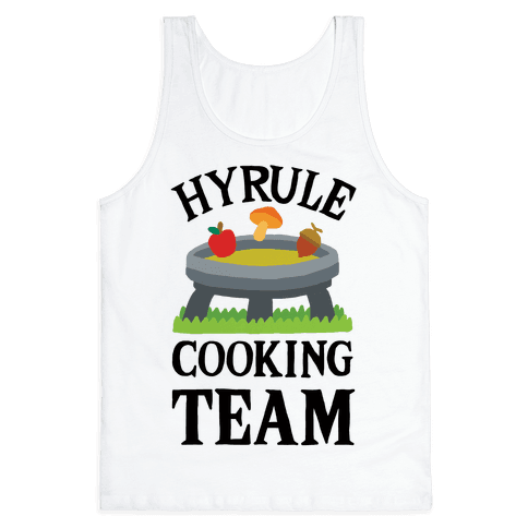Hyrule Cooking Team Tank Top