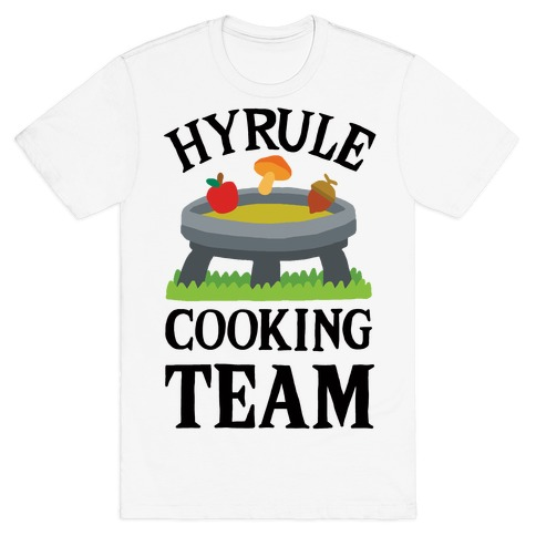 Hyrule Cooking Team Mens T-Shirt