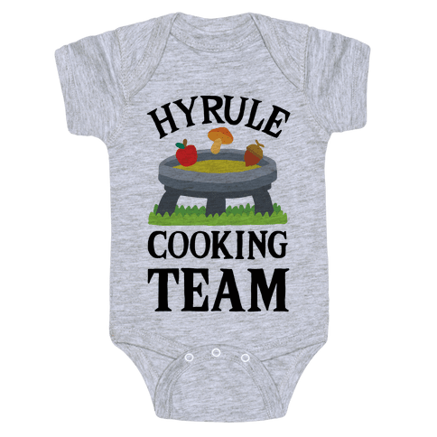 Hyrule Cooking Team Baby Onesy