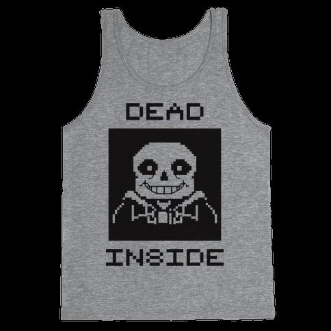 Dead Inside Sans Tank Top