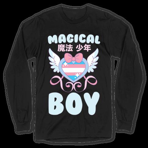 Magical Boy - Trans Pride Long Sleeve T-Shirt