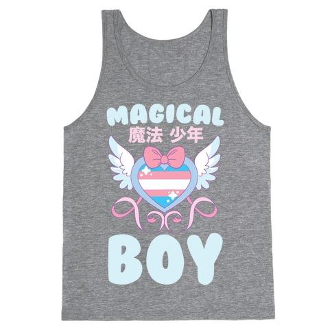 Magical Boy - Trans Pride Tank Top