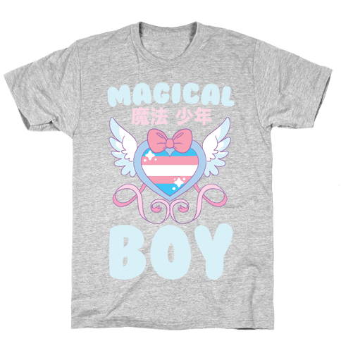 Magical Boy - Trans Pride Mens/Unisex T-Shirt