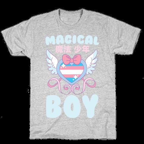 Magical Boy - Trans Pride Mens/Unisex T-Shirt